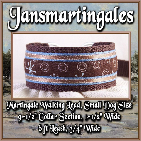 martingale walking lead, small size