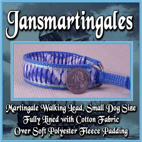 martingale walking lead toy dog size