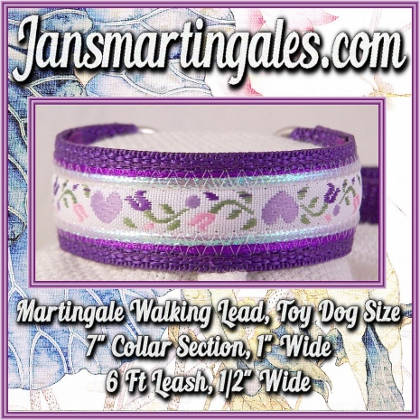 martingale walking lead extra small dog size