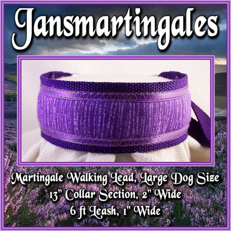 martingale walking lead,  large dog size