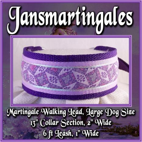 martingale walking lead,  large dog size