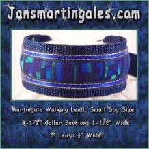 martingale walking lead  small dog size