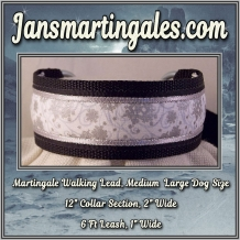 martingale walking lead medium large dog size